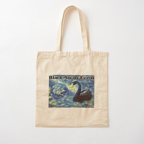Black Swan Event Cotton Tote Bag