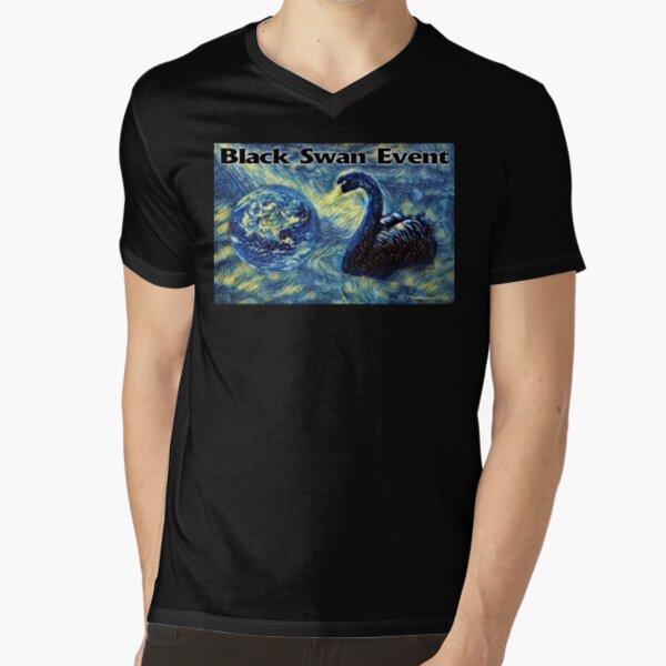 Black Swan Event V-Neck T-Shirt