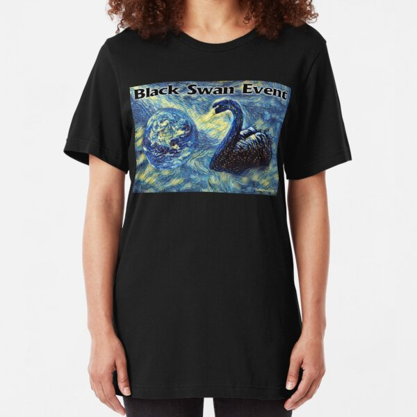 Black Swan Event Slim Fit T-Shirt