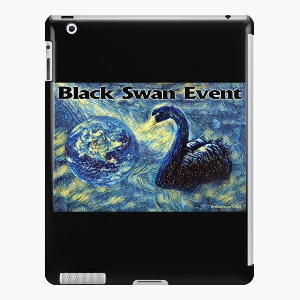 Black Swan Event iPad Snap Case