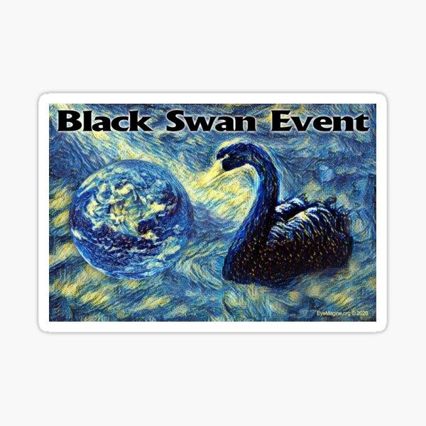 Black Swan Event Sticker