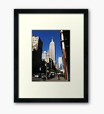 Empire State Building New York City Framed Print