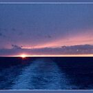 Sunset from ferry by dOlier