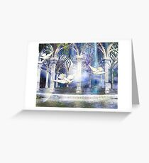 HEAVENLY THRESHOLD Greeting Card