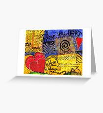 Trust YOUR Heart Greeting Card