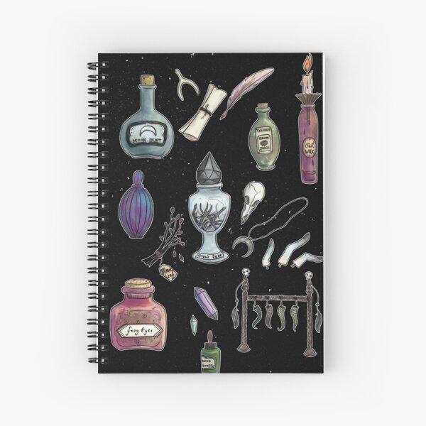 Witches' Stash Spiral Notebook