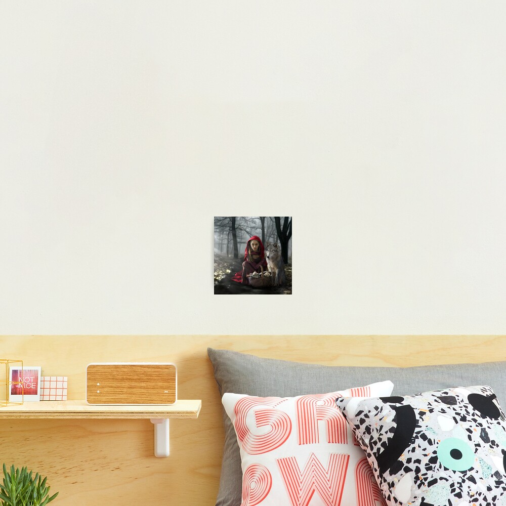 Enchantment Of the Wolf Photographic Print