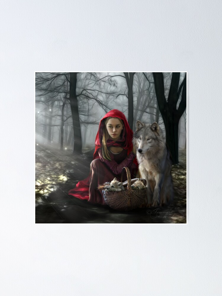 Alternate view of Enchantment Of the Wolf Poster
