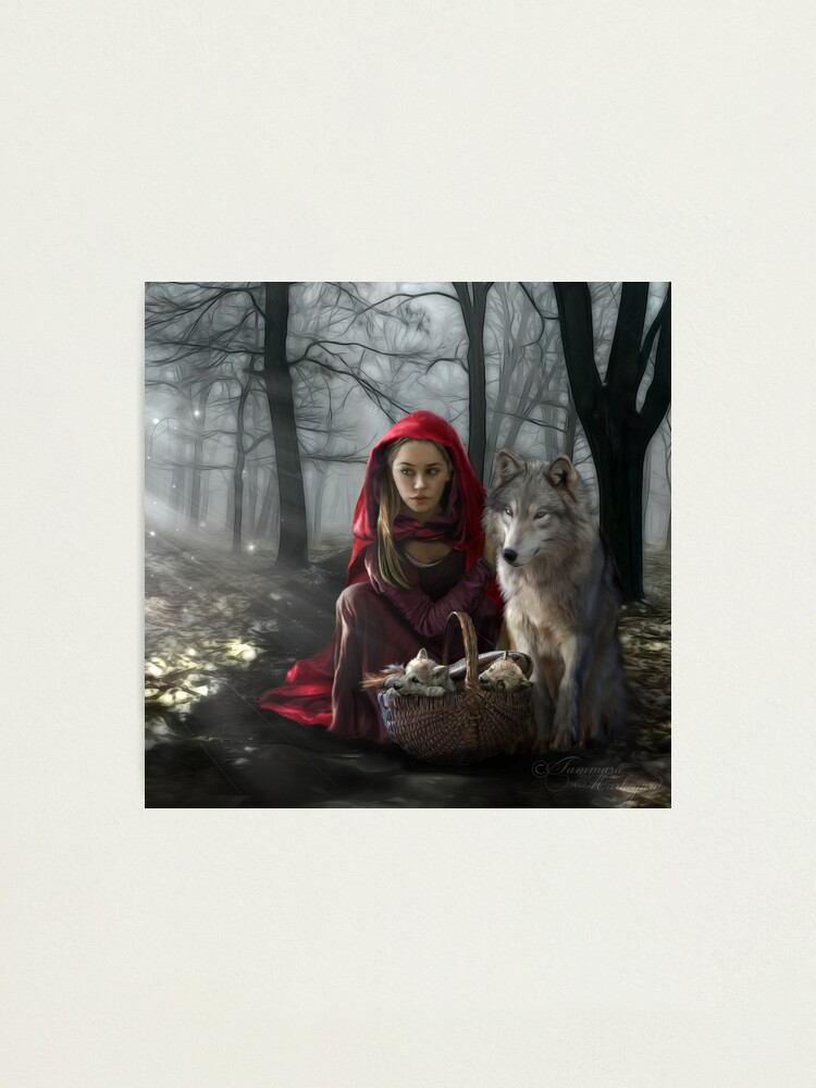 Alternate view of Enchantment Of the Wolf Photographic Print
