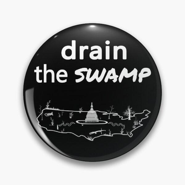 Drain the Swamp Pin