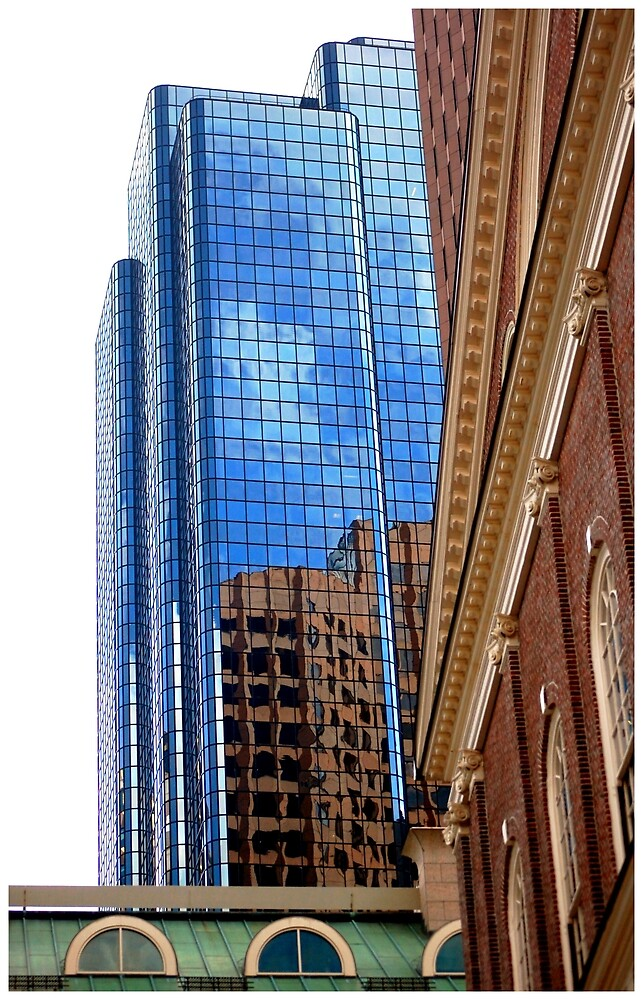 Boston Architecture by Adrienne Berner