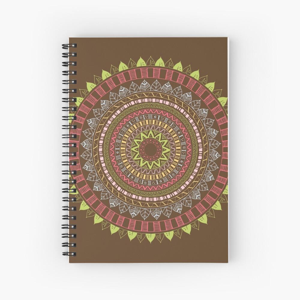 Boho mandala Cuaderno de espiral