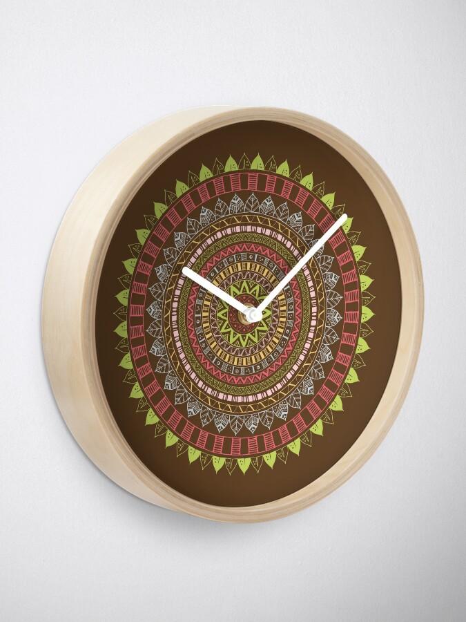 Vista alternativa de Reloj Boho mandala