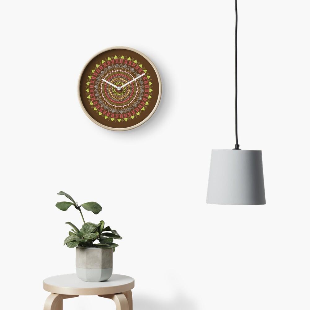 Boho mandala Reloj