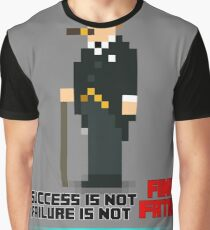 PIXEL People; Winston Churchill Graphic T-Shirt