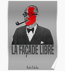 La Façade Libre Poster