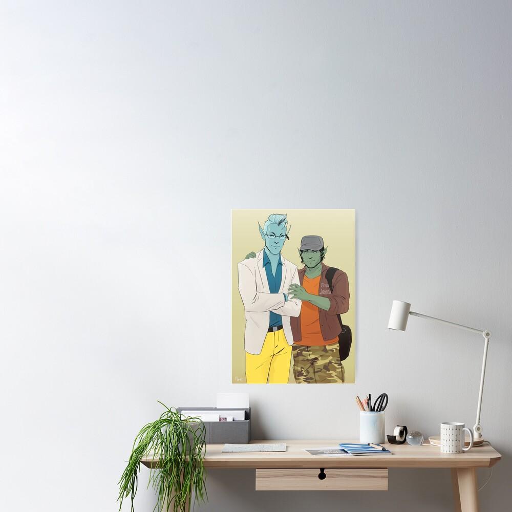 Upsher & Doff Poster