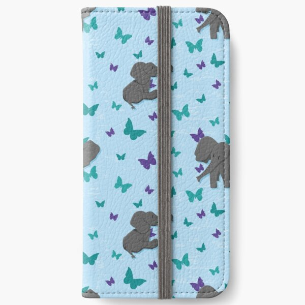 Chill baby elephants iPhone Wallet