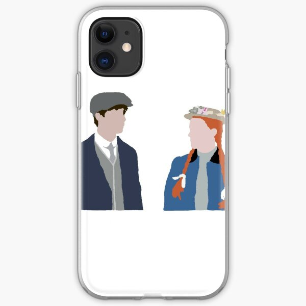 anne with an E and gilbert blythe iPhone Soft Case