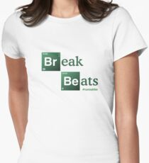 Break Beats Women's Fitted T-Shirt