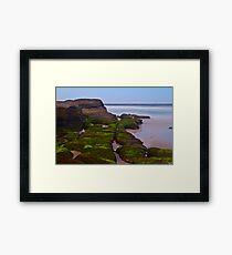 Tidal. Framed Print