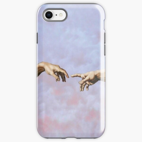 Michaelangelo The Creation of Adam (Detail) iPhone Tough Case
