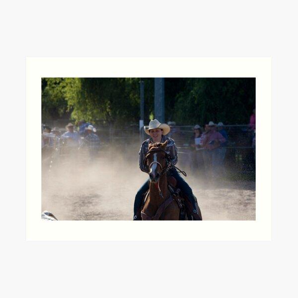 Moruya Rodeo New Years Day 2012 Art Print
