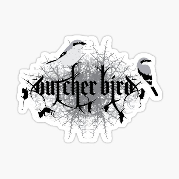 Loggerhead Shrike Sticker