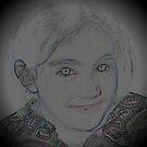 drawing of Evia by deegarra