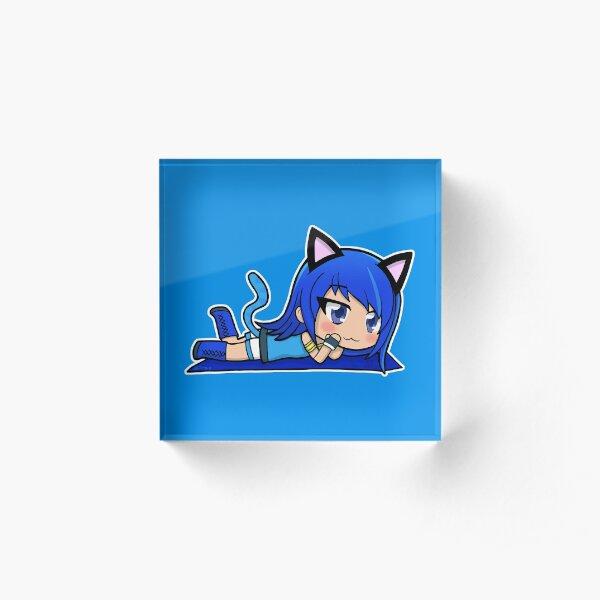Gacha Girl Cat Ears Acrylic Block