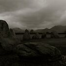The Dark Side Of The Lake District (Castlerigg Stone Circle 2) by Lou Wilson
