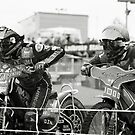 The Start - Speedway by Richard Flint