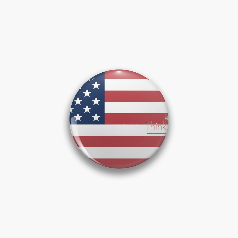 Far Cry 5 Us Flag Pin By Hahol Redbubble