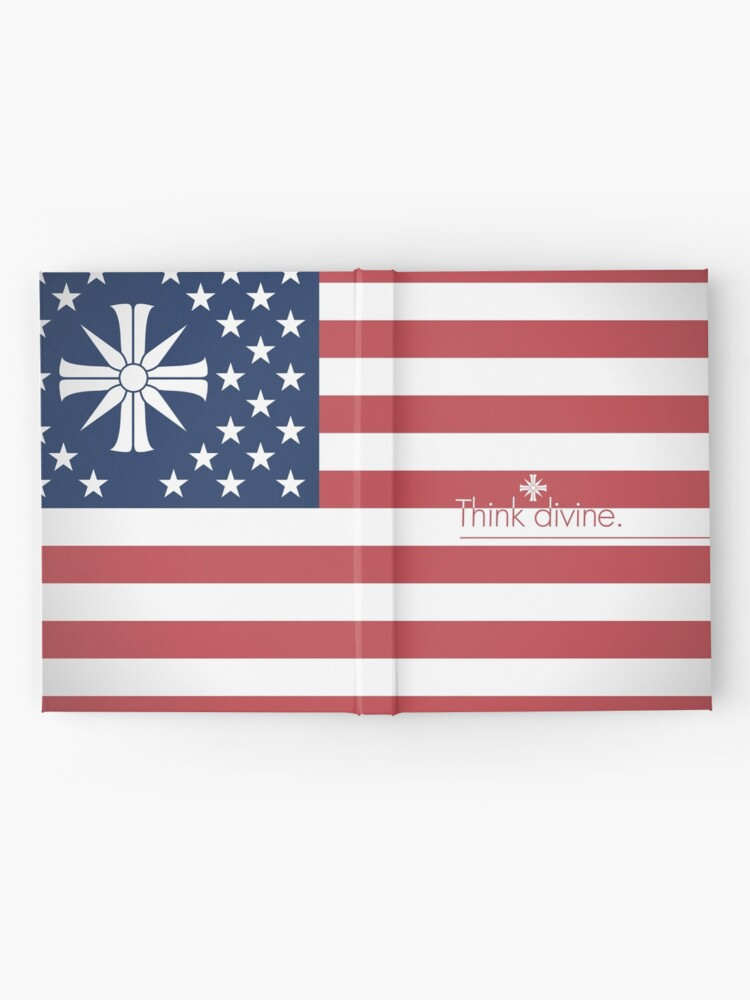 Far Cry 5 Us Flag Hardcover Journal By Hahol Redbubble