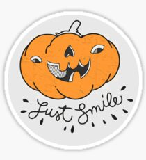 Just Smile! Sticker