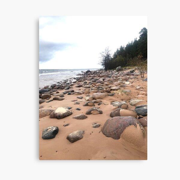 stones & beach Canvas Print
