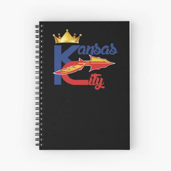 Kansas City Sports Hybrid Fan Gift design Spiral Notebook