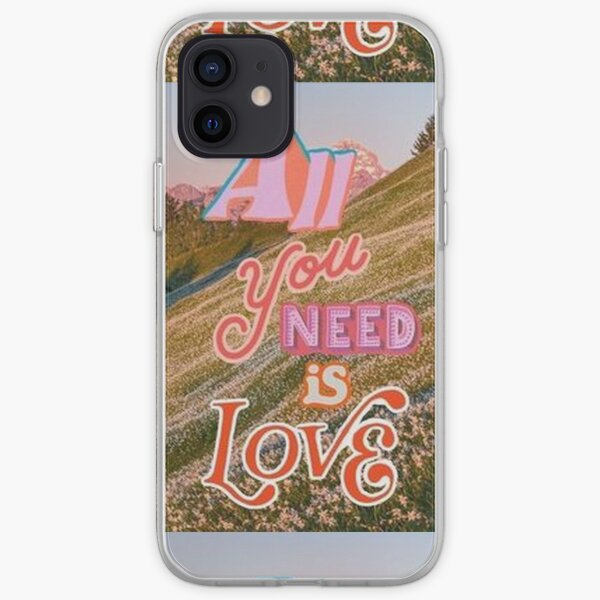 All You Need Is Love Collage iPhone Soft Case