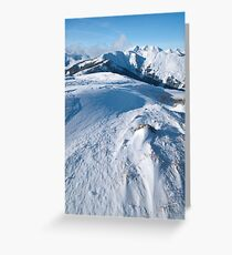 Maurerkogel, Zell am See, Austria Greeting Card