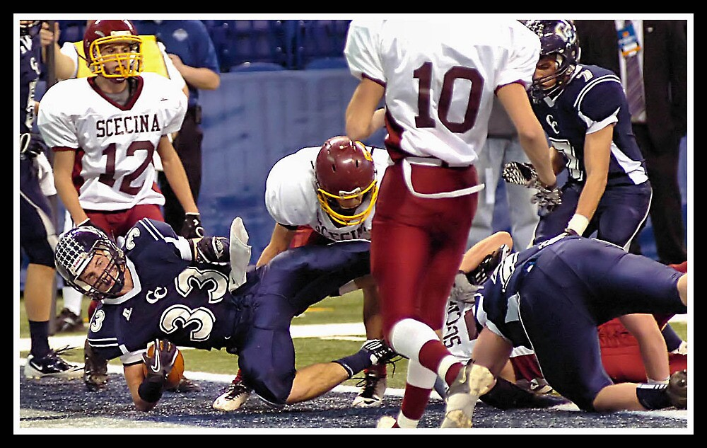 Class 1A Lafayette Central Catholic vs Indianapolis Scecina 3 by Oscar Salinas