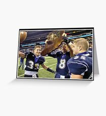 Class 1A Lafayette Central Catholic vs Indianapolis Scecina 10 Greeting Card