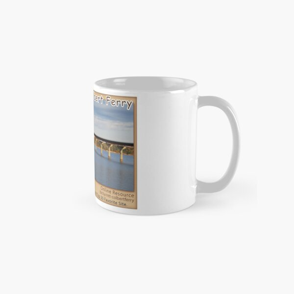 Colbert Ferry on the Natchez Trace Parkway. Classic Mug