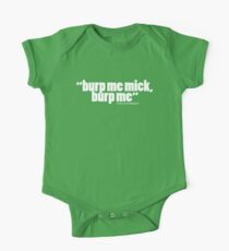 'burp me mick...' One Piece - Short Sleeve