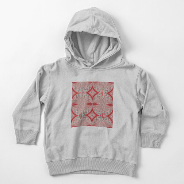 Psychogenic, hypnotic, hallucinogenic, black and white, psychedelic, hallucinative, mind-bending, psychoactive pattern Toddler Pullover Hoodie