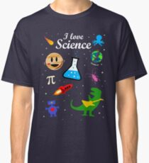 I Love Science Classic T-Shirt