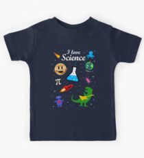 I Love Science Kids Tee