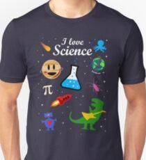 Ich liebe Wissenschaft Slim Fit T-Shirt