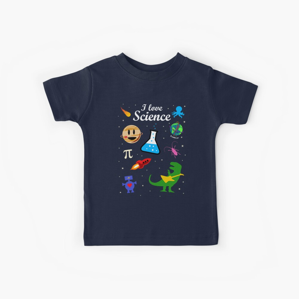 I Love Science Kids T-Shirt