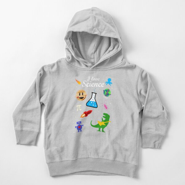 I Love Science Toddler Pullover Hoodie