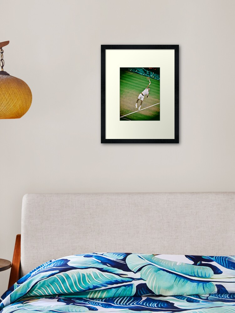 Gift Decor Tennis B /& W ART PRINT Roger Federer illustration Wall Art Sport